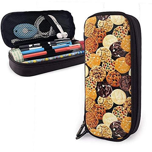Feinschmecker gemischte Kekse Federmäppchen, große Kapazität Pencil Bag Makeup Pouch
