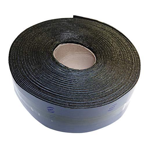 EWT Anti-Crack 65FT x 3IN Asphalt Tarmac Joint Crack Sealer Fabric Self-Adhesive Patch Bitumen Tape, Parking Lot, Roof (618)