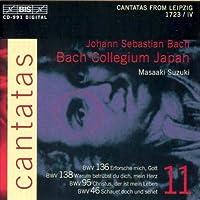 Bach: Cantatas, Vol 11 (BWV 136, 138, 95, 46) /Bach Collegium Japan ・ Suzuki (1999-10-19)