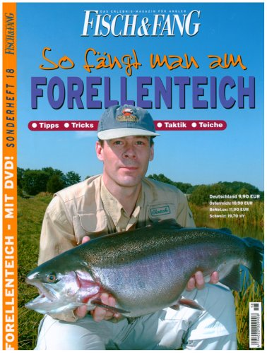 So fängt man am Forellenteich, m. DVD