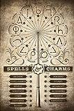 Harry Potter - Zaubersprüche - Film Kino Movie Plakat
