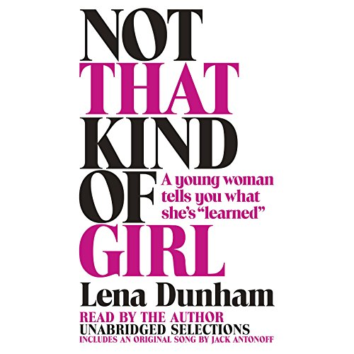 Not That Kind of Girl audiobook cover art