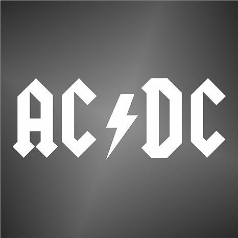 Graphic Lab Aufkleber Sticker Freiform Decal Ac Dc Acdc Hip Hop Rap Jazz Hard Rock Metal Pop Sticker Küche Haushalt