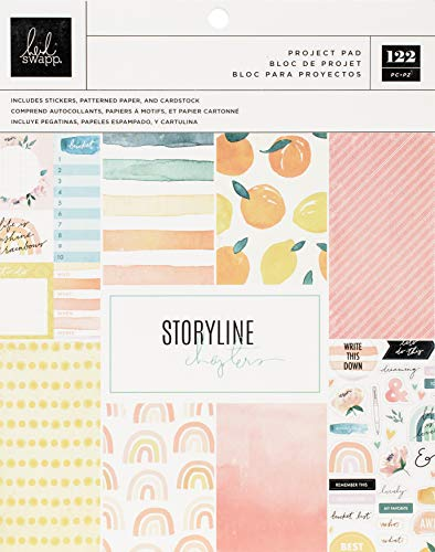 Heidi Swapp 315309 STORYLINE CHAP PROJE, The Journaler, 93 Teile, Einheitsgröße