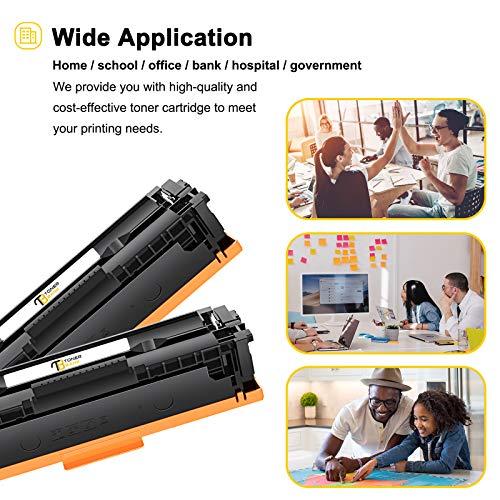 Toner Bank Kompatibel 207A 207X Toner Cartridge Replacement für HP 207A 207X W2210A W2210X Toner HP Color Laserjet Pro MFP M283fdw M282nw M283fdn Pro M255dw M255nw M283 M282 M255 W2211A W2212A W2213A