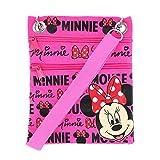 Disney's Minnie Mouse'Glam' Cross-Body Passport Purse Shoulder Bag, Neon Pink