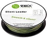 Zeck Silent Leader 20m geflochtene Schnur Wallervorfach, Durchmesser/Tragkraft:1.1mm / 68kg