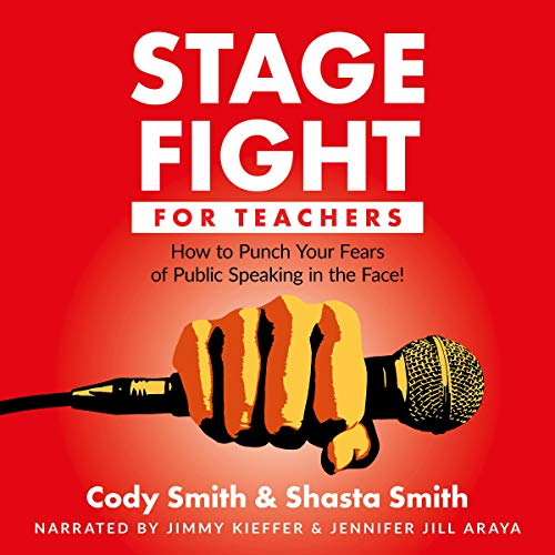Stage Fight for Teacher audiobook cover art