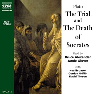 The Trial and the Death of Socrates audiobook cover art