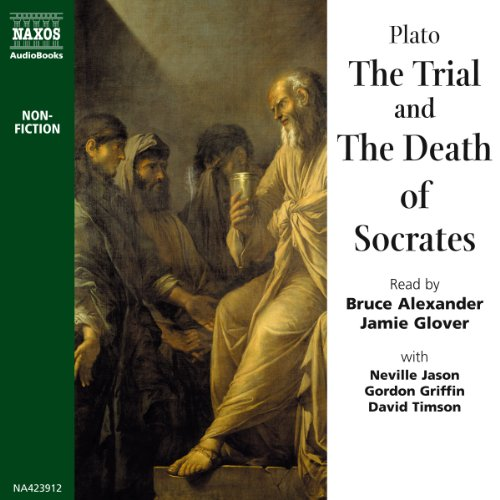 The Trial and the Death of Socrates  cover art
