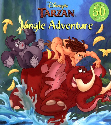 Disney's Tarzan: Jungle Adventure (A Mouse Works giant lift-the-flaps book)