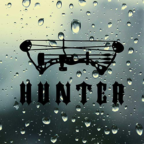 SUPERSTICKI Pegatina para coche con texto en alemán 'Bow Hunter Jagen Hunt', de aprox. 20 cm