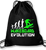 EZYshirt® Wakeboard Evolution Turnbeutel