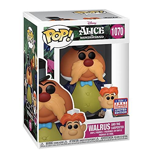 Funko Alice in Wonderland Walrus and The Carpenter Pop Figura de vinilo y Buddy...