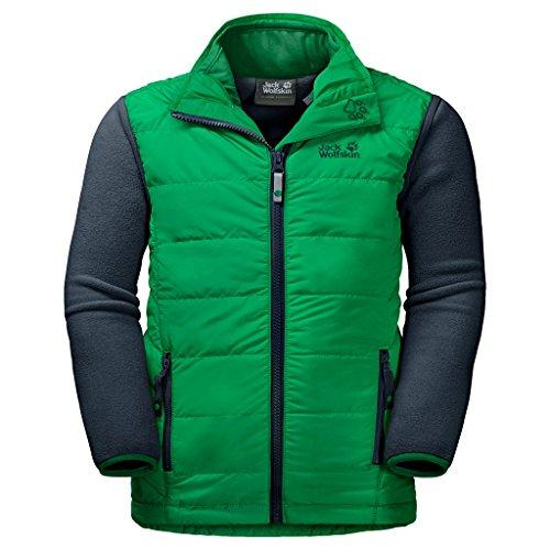 JACK WOLFSKIN 3in1-Jacke GLEN DALE KIDS, evergreen, 140, 1606331-4075140