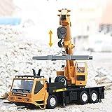 Tagke Grúa de construcción del vehículo eléctrico de Rc de coches de juguete coches grúa torre remoto inalámbrico regalos del coche de control del coche eléctrico de la grúa Modelo cargador excavadora