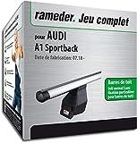 Rameder Pack Barres de Toit Tema pour Audi A1 Sportback (164003-38933-1-FR)