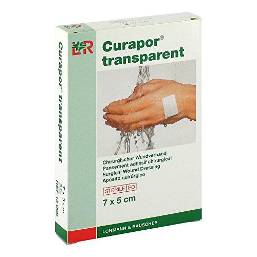 CURAPOR Wundverband transparent 7x5cm steril, 5 St