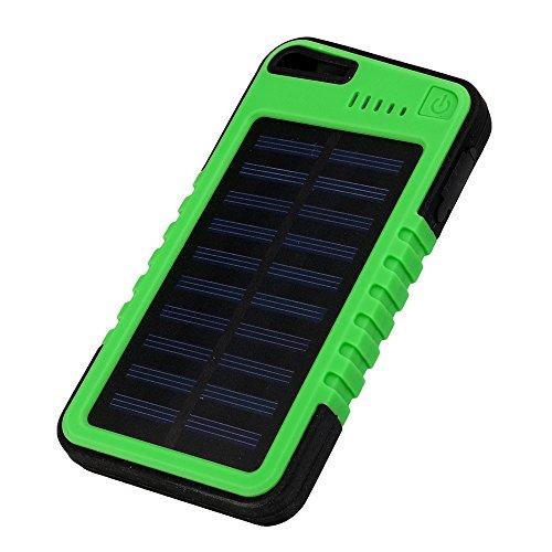 OPAKY 20000mAh Dual USB Impermeable Solar de energía Cargador de Banco para teléfono móvil