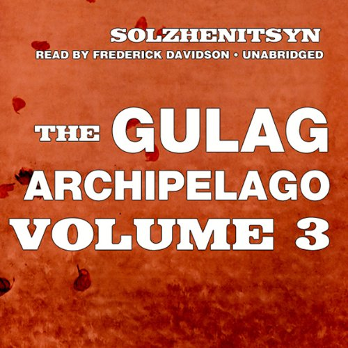 The Gulag Archipelago audiobook cover art