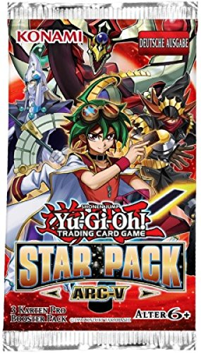Konami Yu-Gi-Oh ! Star Pack 2015 ARC-V 1 Booster