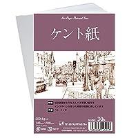 マルマン 絵手紙用ポストカード ケント紙 30枚 S145C