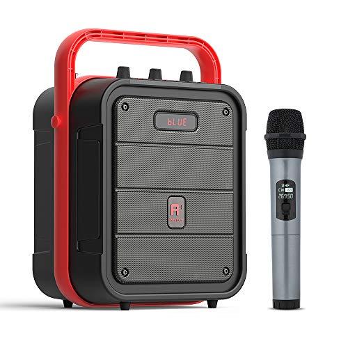 SNUNGPHIR Micrófono de Karaoke inalámbrico Bluetooth, Karaoke portátil de mano para fiestas y todos los teléfonos inteligentes, ESMK-JS-1029-044