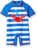 Little Me Children's Apparel Baby and Toddler Boys UPF 50+ Rashguard Suit, Crab, 24 Months