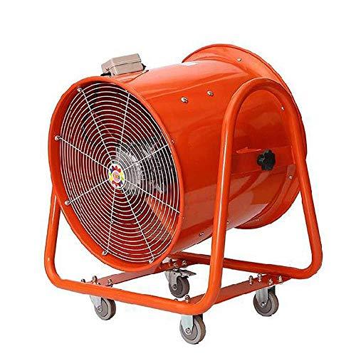 Equipo Starsmyy Ventilador de conducto de 24 Pulgadas Ventilación silenciosa Ventilador de Escape Diseño 2000W 240M sup3; / H para Cultivo hidropónico Tienda de campaña Apto en Cocina Baño