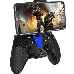 [Prise en charge large gamme] Ce contrôleur Compatible avec iPhone / iPad / tvOS / Mac Catalina / Android 10 / PS4. [Fonctionne avec la dernière version iOS] Compatible avec iOS 13, 13.4, 13.5, 13.6, 13.7, 14 et plus. Fonctionne avec les jeux compati...