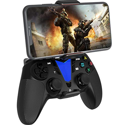 Darkwalker iOS Android Mobile Controller, Drahtloser Bluetooth Gamepad Controller für iPhone/iPad/tvOS/Android 10 Cloud Gaming/PS4