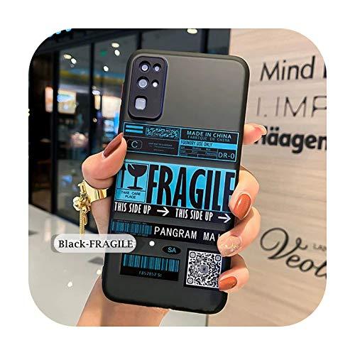 Funda para Samsung Galaxy A51 A71 A50 Note 20 Ultra 10 Plus Lite Funda para Samsung Galaxy S10 S20 Plus Ultra S10E CDG Carcasas-Negro02-Samsung S20 Ultra