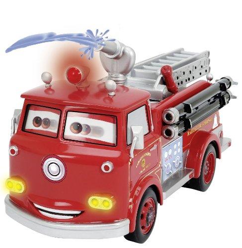 RC Feuerwehr kaufen Feuerwehr Bild 1: Dickie Spielzeug 203089549 - RC Disney Cars, Red Fire Engine, 3-Kanal Funkfernsteuerung, 29 cm, rot*