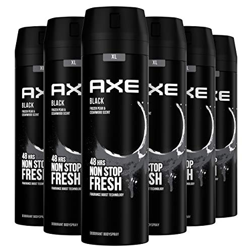 Axe Black Rock Desodorante - 200 ml - Pack de 6