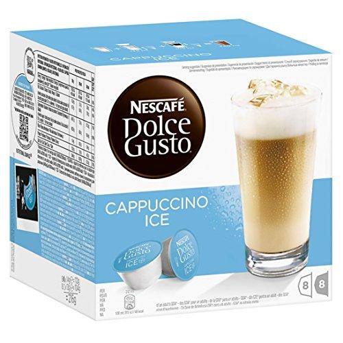 NESCAFÉ Dolce Gusto Cappuccino Ice | Cápsulas de Café - 16 cápsulas de café