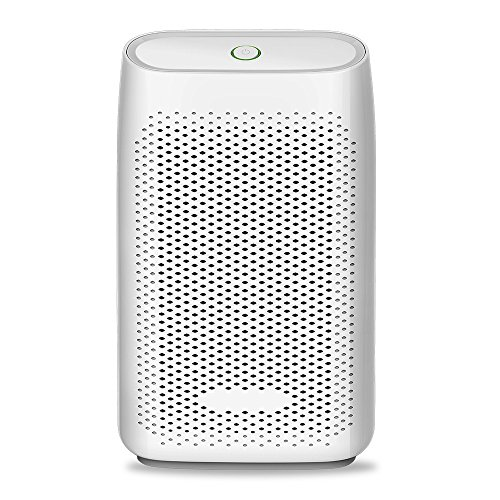 JTYR Home Dehumidifier 2000ml Ultra Quiet Small Portable Dehumidifiers with Auto Shut Off for Basement Bedroom Bathroom Baby Room Office (Up to 269 Sq.Ft)