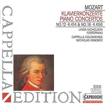 Mozart: Piano Concertos Nos. 12 & 18