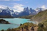 Puzzle para Adultos Parque Nacional Torres del Paine Patagonia Chile Puzzle 1000 Piezas Rompecabezas de madera para adultos