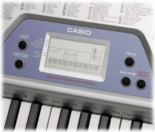 CASIO CTK 481 AD 5-Octave Full-Size Keyboard with LCD, Song Bank and Midi