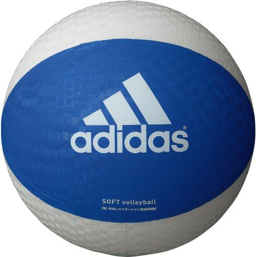 adidas(アディダス) ソフトバレーボール AVSBW 青×白