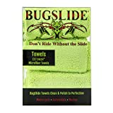 BugSlide 14x14 3 Pack Microfiber Cleaning Towels, Cleans and Polishes all Surfaces without Scratching, Easy Bug Removal and Polishing Cloth, For Use with all Bugslide Cleaning Products