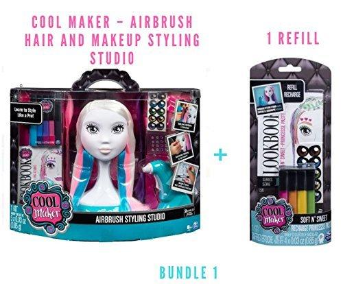 Cool Maker – Airbrush Hair and Makeup Styling Studio (Bundle 1)