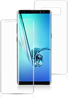 BESTSUIT 360 TPU Guard Front+Back Crystal Clear, Hd Ultra Clear Film, EDGE to EDGE Screen Protector For Samsung Galaxy Not...