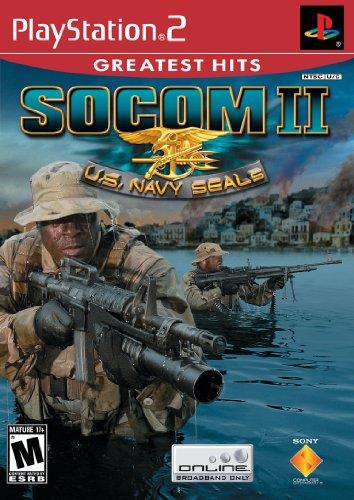 SOCOM II U.S. Navy Seals - PlayStation 2