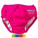 Beco Unisex-Baby Aqua-Windel Slipform mit Gummibündchen, Schwimmhilfe, Rosa (Pink/4), S (3-6 Monate)