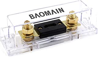 Baomain ANL 350A Electrical Protection ANL Fuse with fuse holder 1 Pack
