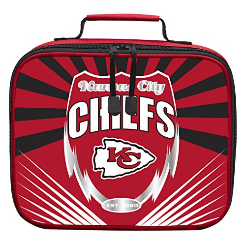NFL Kansas City Chiefs 'Lightning' Lunch Kit, 10' x 8.5' x 3'