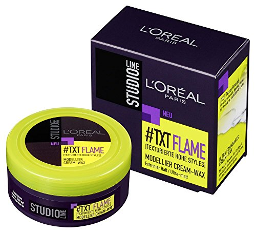 L\'Oréal Paris Studio Line Flame Modellier Cream-Wax, 75 ml