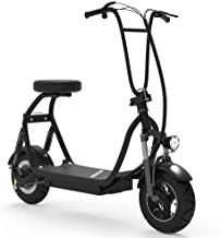 SKRT Electric Scooter 350W 48V 18.6 Miles Long-Range Battery Foldable Easy Carry Portable Design, Adult Electric Scooter U...