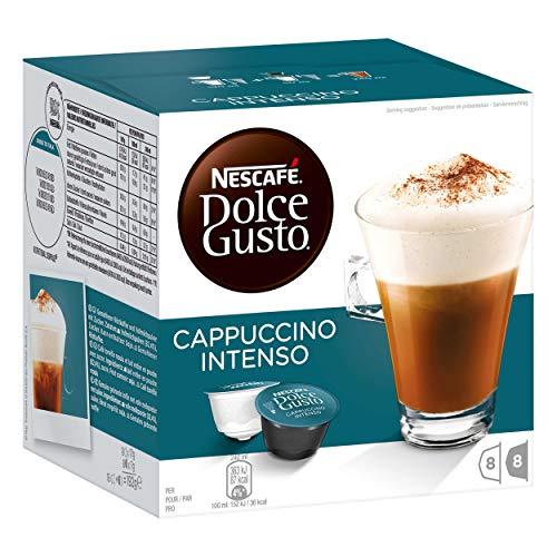 Nescafé Dolce Gusto Cappuccino Intenso, Milchkaffee, Kaffeekapsel, Kaffee, 96 Kapseln (48 Portionen)